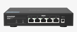 QNAP QSW-1105-5T network switch